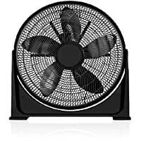 Black+Decker 16 Inch Box Fan, FB1620-B5, Black, 2 Year Manufacturer's Warranty