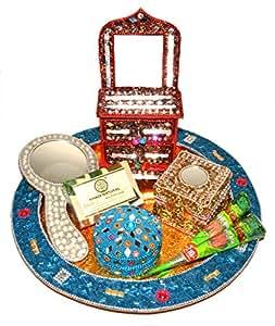 Raksha Bandhan Special Gifts Set (7 in 1) Herbal Beauty Thali Set
