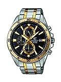 Casio Watches Efr-546sg-1avuef-Gebäude Gold Und Silber Rostfrei Stahl Chronograph Uhr Steel