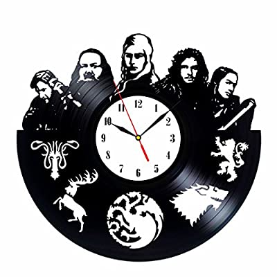 Game of Thrones Inspired Vinyl Clock Vintage Collection
