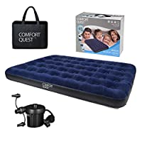 Comfort Quest Airbed Inflatable Blow Up Camping Mattress Guest Air Bed 1