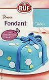 RUF Fondant Türkis, 4er Pack (4 x 250 g)