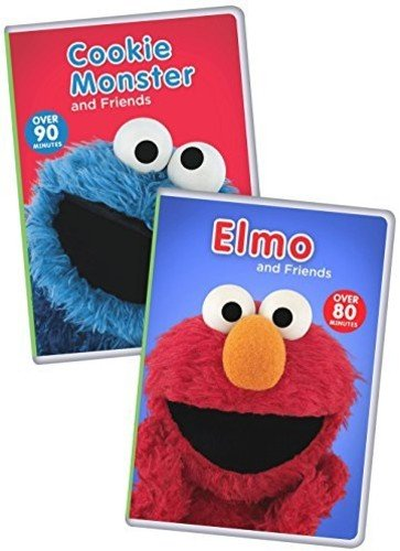 Sesame Street: Elmo and Friends/Cookie Monster and Friends 2-Pack