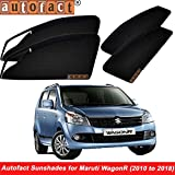 82da906408ef Autofact Magnetic Window Sunshades Curtains for Maruti Wagonr (2010 to  2018) - Set
