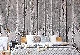 Getragene Rustikales Holzbrett Textur Vlies Fototapete Fotomural - Wandbild - Tapete - 104cm x 70.5cm / 1 Teilig - Gedrückt auf 130gsm Vlies - 10716VEM - Holzwände