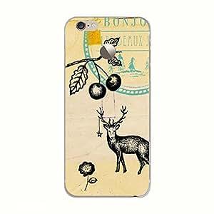 Customizable Hamee Original Designer Cover Thin Fit Crystal Clear Plastic Hard Back Case LeEco LeTV Le 1s (deer stamp)