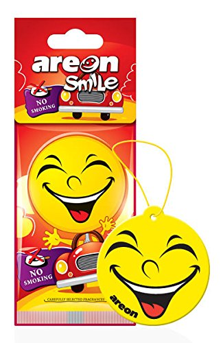 Areon Smile design appeso auto deodorante No smoking (confezione da 5)