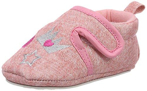 Sterntaler Baby Mädchen Krabbelschuh, Pink (Rosa), 17/18 EU