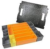 Bosch Sortimo Insetboxenset F Höhe 6 cm und Deckeleinlage
