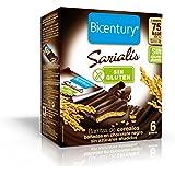 Bicentury - Sarialis - Barritas de Cereales de Chocolate Negro - 6 Barritas