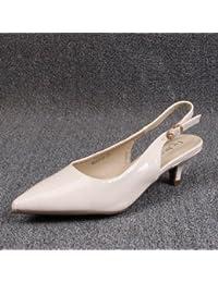 GAOLIM Zapatos De Mujer Femenina con Pintura En Baotou, Campo Vacío para Grandes, Solo Zapatos Zapatos Profesionales