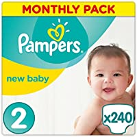 Pampers Premium Protection Nappies Size 2 Pack of 240