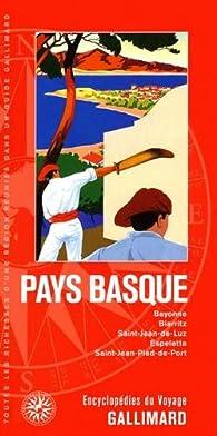 Pays basque bayonne biarritz saint jean de luz espelette saint jean pied de port babelio - Train from bayonne to st jean pied de port ...