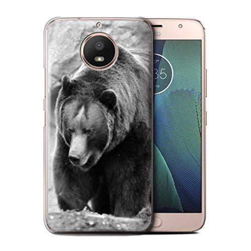 Stuff4® Hülle/Case für Motorola Moto E4 Plus 2017 / Bär Muster/Zoo-Tiere Kollektion -