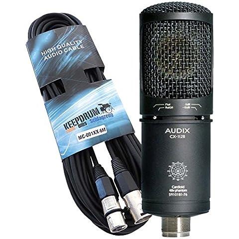 Audix CX112-B microfono condensatore a grande diaframma Studio microfono 6m cavo microfono