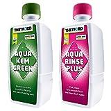 Thetford Mini Sanitärsatz Aqua Rinse 400 ml + Aqua KEM Green 375 ml