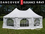 Dancover Partyzelt Pavillon Festzelt Elegance 6,8x5m, weiß