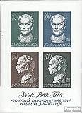 Yougoslavie Bloc 8 (complète.Edition.) 1962 josip broz tito (Timbres pour les...