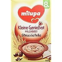 Milupa Milchbrei Stracciatella ab dem 8. Monat, 4er Pack (4 x 500 g Packung)