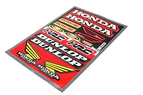 Aufkleber Satz Sticker Set Honda CBR HRC Cemoto Dunlop Motorrad #34 - Aufkleber-set Für Honda