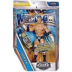 WWE Wrestlemania 33 Serie Élite Action Figure - HHH Triple H 'The Game' Il Re Di W re'/ Teschio King Maschera & WWE Campionato Cintura