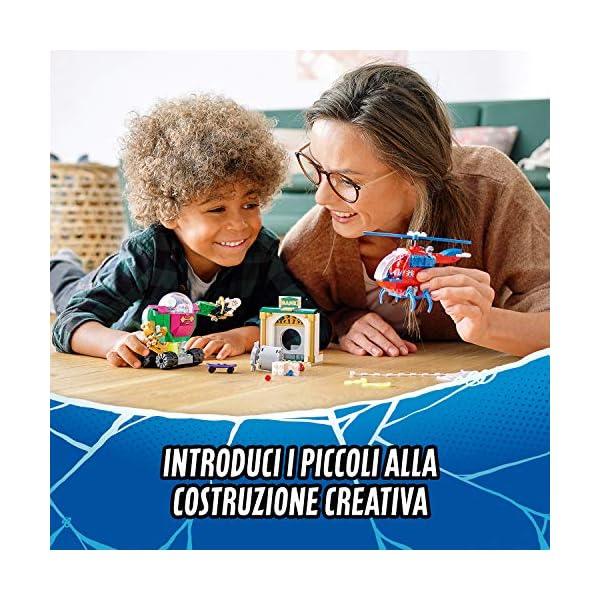 LEGO Super Heroes La Minaccia di Mysterio Marvel Spider-Man Playset d'Azione con Mech, Elicottero e la Minifigure di… 2 spesavip