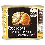 Sabarot Escargots 200G