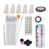 Biutee Kit d'art d'ongle 5 Ongles Dotting Stylo - Best Reviews Guide