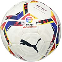 PUMA LaLiga 1 Accelerate MS Ball Balón de Fútbol, Unisex-Adult, White-Multi Colour, 5