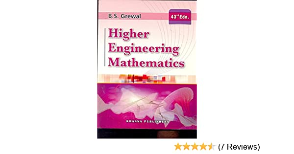 Higher Engineering Mathematics By Grewal Pdf