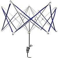 ULTNICE Devanadera de hilo Swift de paraguas para líneas de fibra Hilos de fibra