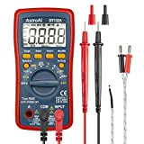 AstroAI Digital Multimeter, TRMS 4000 Counts Volt Meter Manual and Auto Ranging; Measures