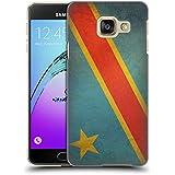 Head Case Designs République Démocratique Du Congo Congolais Drapeaux D'époque 5 Étui Coque D'Arrière Rigide Pour Samsung Galaxy A3 (2016)