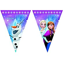 Procos 86921–filare banderines Disney Frozen Northern Lights, multicolor