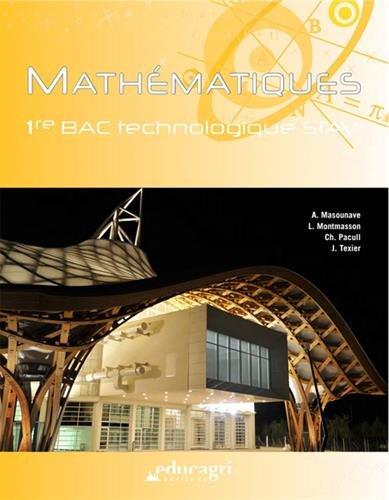 Mathématiques 1re Bac technologique STAV