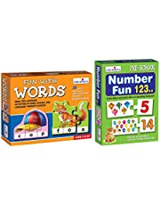 Creative Educational Aids P. Ltd. words and numbers combo