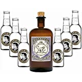 Monkey 47 Schwarzwald Dry Gin & 6 x Thomas Henry Tonic Water 0,2 Liter