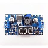 LM2596 DC-DC Buck Converter Module d'étape Module d'alimentation Régulateur Sortie 0-30V Affichage LED rouge