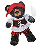 PX-JHAO-5N87 Pirate Girl Costume with Sword for a teddy bear (16 inch)