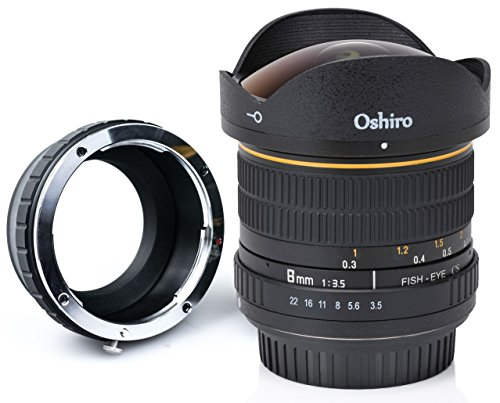 Vivitar Kamera-objektiv (tatsuhiro 8mm f/3,5LD UNC AL Weitwinkel Fisheye Objektiv für Sony A7R II, A7S, A7, A6000, a5100, A5000, A3000, NEX-7, NEX-6, 5T, NEX-5N, NEX-5R, 3N und andere E-Mount Digital spiegellose Kameras)