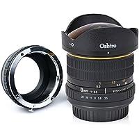 tatsuhiro 8mm f/3,5LD UNC AL Weitwinkel Fisheye Objektiv für Sony A7R II, A7S, A7, A6000, a5100, A5000, A3000, NEX-7, NEX-6, 5T, NEX-5N, NEX-5R, 3N und andere E-Mount Digital spiegellose Kameras
