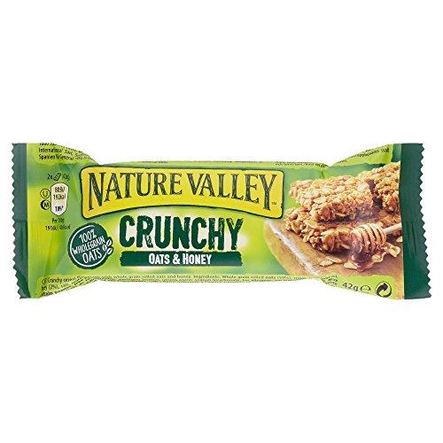 Und Honig Hafer Valley Nature (Nature Valley Oats & Honey, 18er Pack (18 x 42 g))