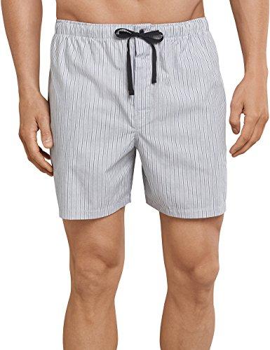 Schiesser Herren Schlafanzughose Long Boxer, Grau (Grau 200), Medium (Herstellergröße 050)