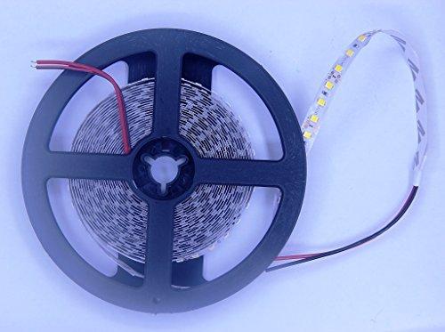 Culver LED Led Strip Lights Nano Waterproof A Plus Led Tape Light DC 24V SMD 2835 16.4.8 Ft (5M) 600 leds 120leds/m Flexible Led Lighting, Mirror Lights No Power Supply WARM WHITE