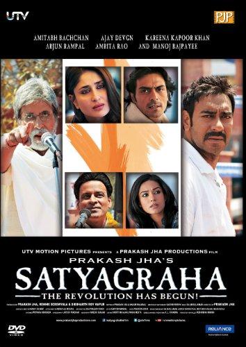 Satyagraha. Bollywood Film mit Amitabh Bachchan und Kareena Kapoor. Sprache: Hindi, Untertitel: Englisch. Weder deutsche Synchr