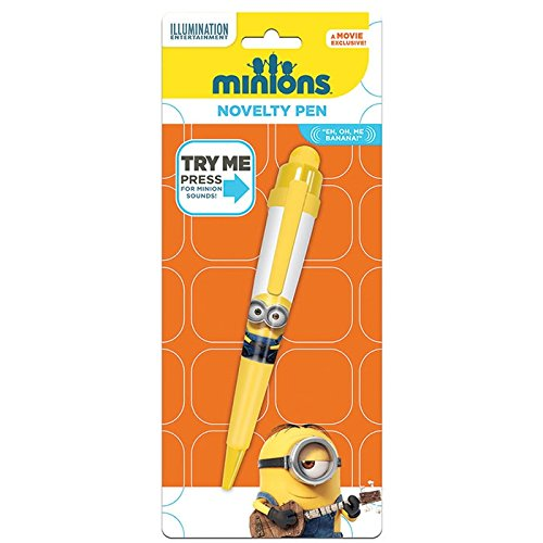 Minions Bolígrafo con sonido Minion