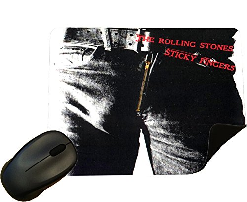 Preisvergleich Produktbild The Rolling Stones Sticky Fingers Album cover Mouse Mat / Pad - By Eclipse Gift Ideas