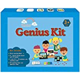 VAANDOOZ Genius Kit- A complete Math, English and GK Kit with 10 different iitems for 3 Years