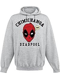 Deadpool Chimichanga Sudadera con capucha Gris/Melé
