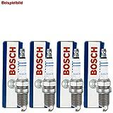 4 Bosch Zündkerzen Set Nickel
